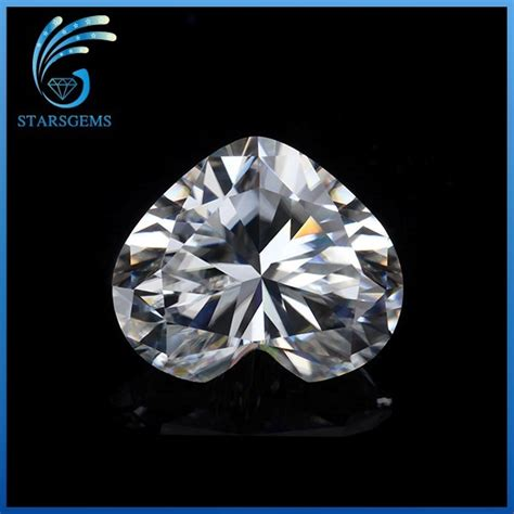 diamond pattern in french square shape french cut clear white moissanite diamond for