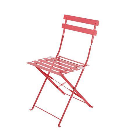 sedie pieghevoli da giardino 2 sedie pieghevoli da giardino rosse in metallo confetti