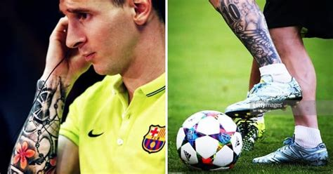 messi tattoo eye the adidas quot unfollow quot caign feat the tattooed lionel