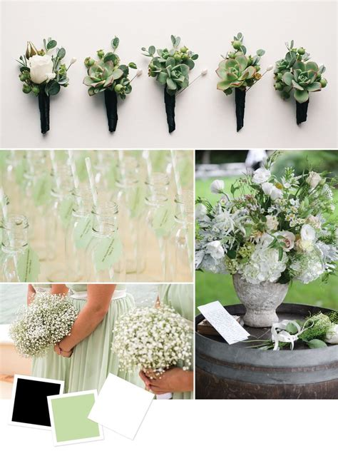 green wedding colors 15 wedding color combos you ve never seen