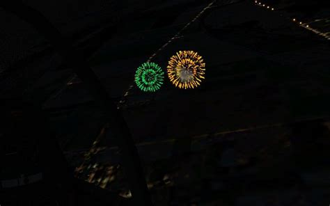 nw washington state scenery july  fireworks project  fsx