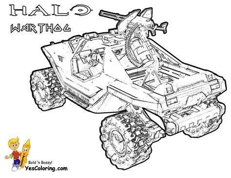 printable halo images free reach halo hunter coloring pages