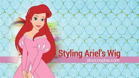 Silky Ariel ariel wig using arda s silky in scarlet 187 a to z