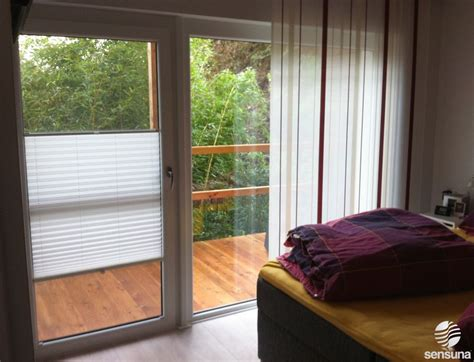Fenster Sichtschutz Schlafzimmer by Sichtschutz Plissees F 252 R Breite Balkont 252 Ren Schlafzimmer