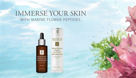 Eminence Handmade Organic Skin Care - target wrinkles with the new eminence organics marine