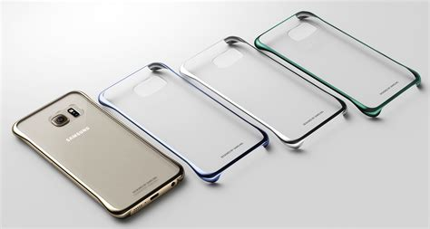 Samsung Original Clear Cover For S6 Edge Gold zalewmobile oryginalne etui clear cover samsung galaxy s6