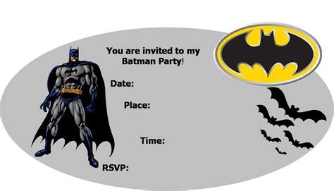 Batman Birthday Cards Free