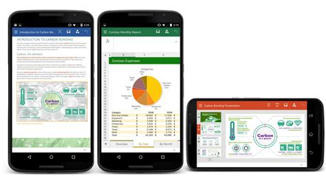 word for android microsoft launches office for android preview