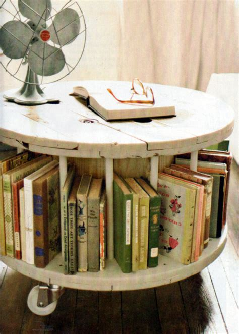 yea or nay spool bookcase coffee table curbly