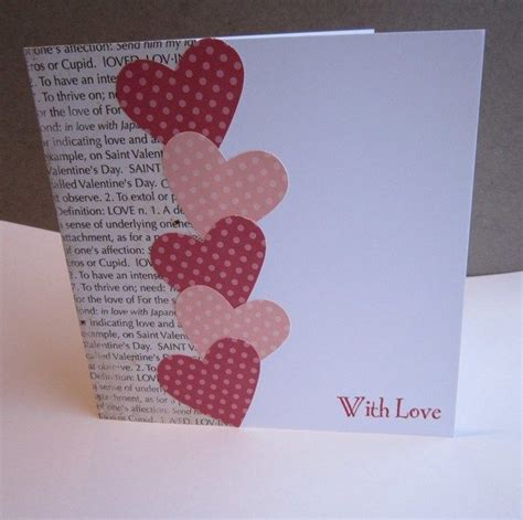 Handmade Valentines Cards Ideas - 25 unique cards ideas on