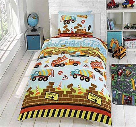 How To Train Your Dragon Wall Stickers boys truck construction kids licensed quilt duvet bedding