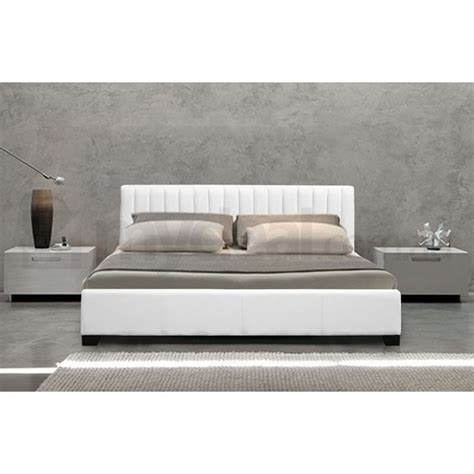 best 25 white leather bed frame ideas on