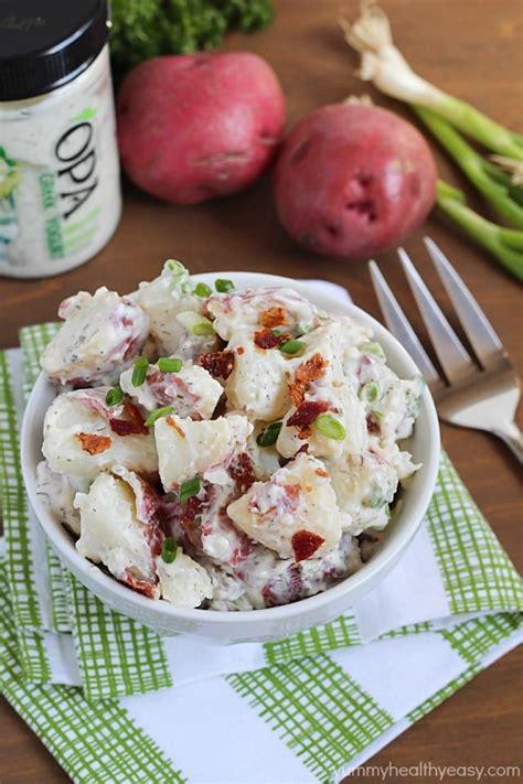 easy salad recipes easy potato salad recipe healthy easy