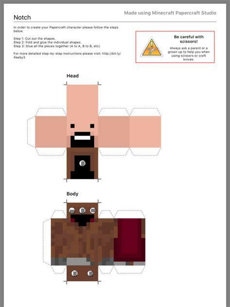 Minecraft Papercraft Studio Pc - minecraft papercraft studio on the app store