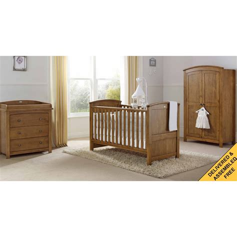 Furniture Nursery Sets Silver Cross Ashby Nursery Furniture Set At W H Watts Nursery