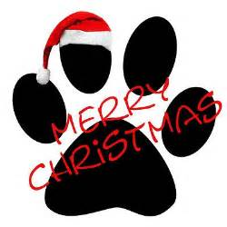 paw print clip art christmas dog lovers will love this