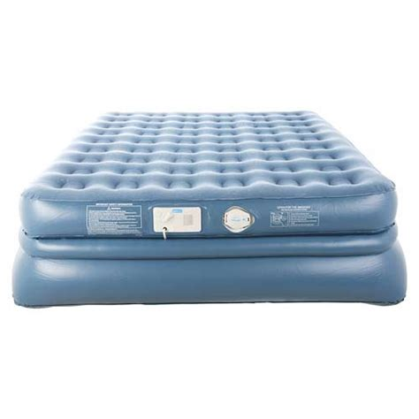 aerobed 9323 size raised quadra coil air mattress bed ebay