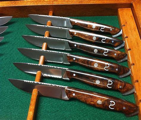 Handmade Steak Knives - handmade custom steak knives and cutlery