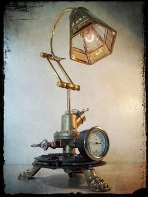 hand crafted industrial steampunk repurposed upcycled