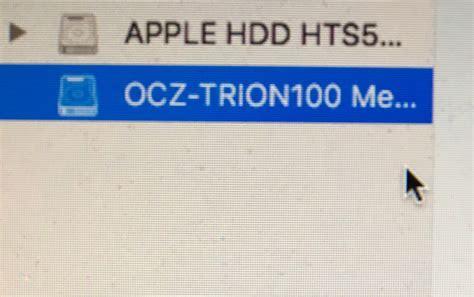 format external hard drive mac os high sierra macbook pro lost ssd during mac os high sierra update