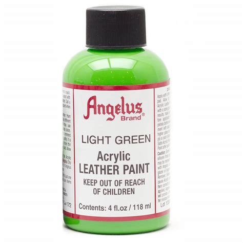 angelus paint 4 bred buy angelus leather paint 4 oz light green