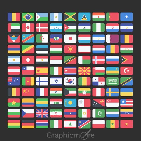 pattern psd file 99 national flag icons set design free psd download