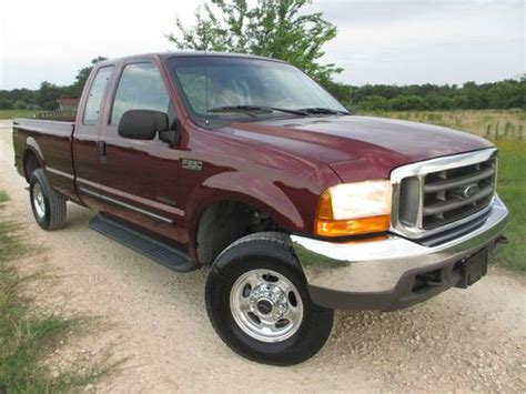 2000 Ford F250 Diesel by Sell Used 2000 Ford F250 7 3 Diesel 4x4 Low One