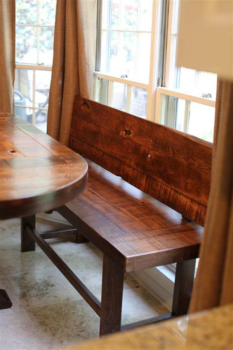 farm style bench with back benches rustic farm style handmade custom rustic