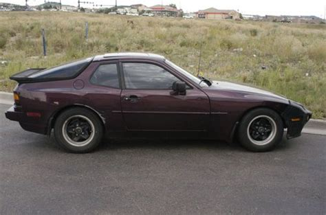 purchase used 1984 porsche 944 parts car in denver colorado united states