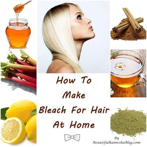 how to make for hair at home
