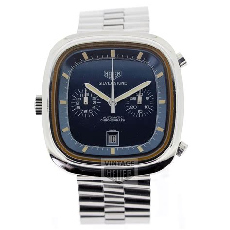 Tag Heuer Silverstone Bl heuer silverstone blue automatic chronograph on