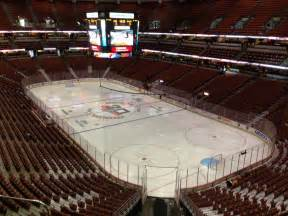 Honda Center Honda Center Section 427 Row C Seat 14 Anaheim Ducks Vs