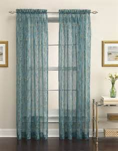 Kitchen Window Valances by King Peacock Sheer Curtain Panel Curtainworks Com