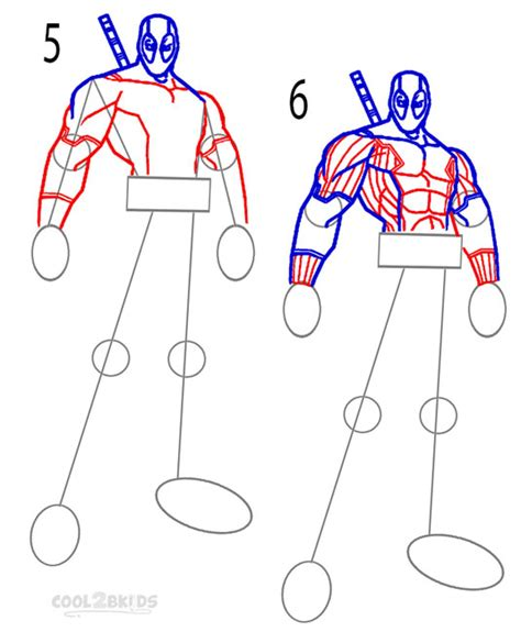 how to do doodle step by step how to draw deadpool step by step pictures cool2bkids