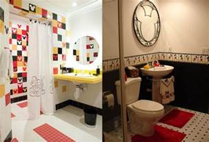 disney home decor ideas mickey mouse tiles for bathroom bathroom disney theme