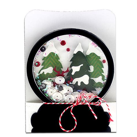 how to make a snow globe card snow globe cards cutting collection wpc svg and ai
