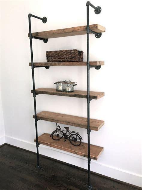 industrial bookshelf the quot bentley quot bookshelf reclaimed wood industrial