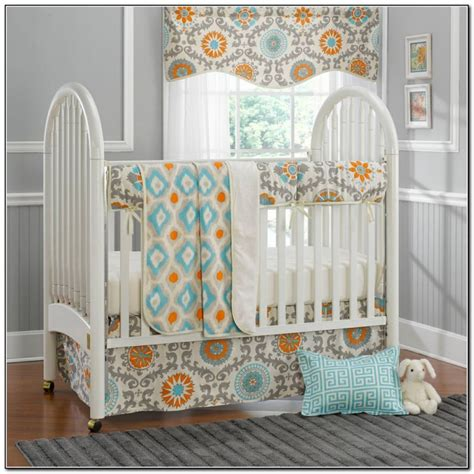 Mini Crib Bedding Sets Neutral Beds Home Design Ideas Crib Bedding Sets Neutral