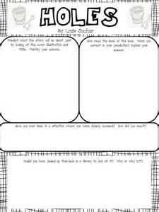 Holes Book Report Ideas Freebie Pre Reading Activity Poster To Go With The Novel