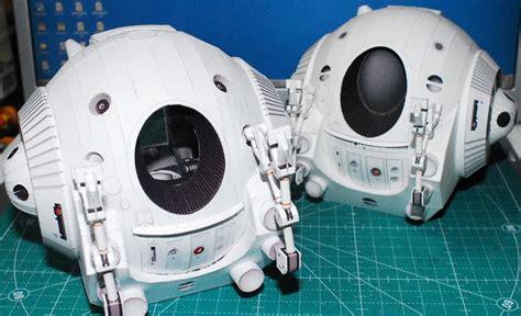 Space Papercraft - 2001 a space odyssey pod papercraft papercraft