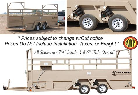 scale mobile rice lake mobile livestock scales portable on