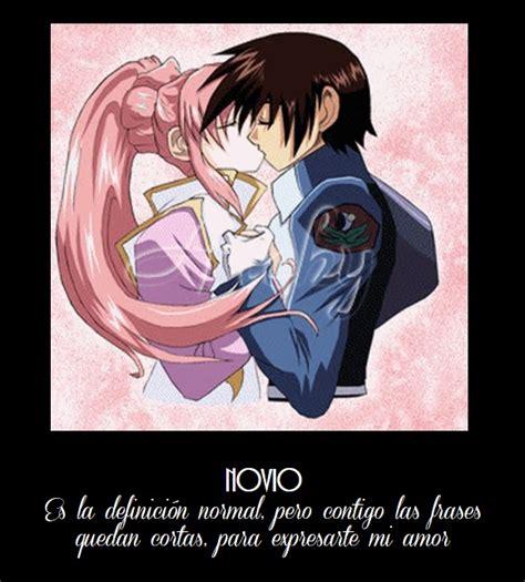 imagenes de frases bonitas con anime im 225 genes de amor para mi novio con frases lindas anime
