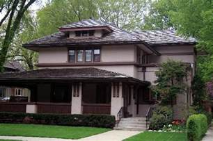 Prarie Style Homes Prairie Style House Picture Of Oak Park Illinois