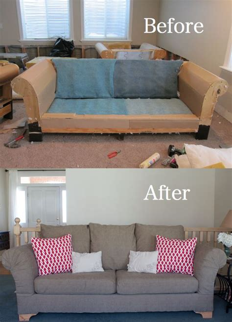 easy way to reupholster a couch 1000 ideas about couch makeover on pinterest shelf