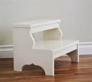 white easy vintage step stool diy projects