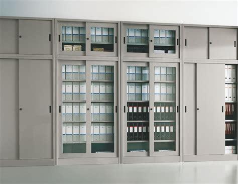 armadio ufficio armadi metallici ante scorrevoli imetallici arredamento