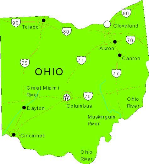 ohio maps map of ohio