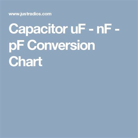 capacitor calculator nf to pf 17 best images about electronics on radios bipolar and arduino