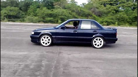 nissan sunny old model modified nissan sunny gts sporting magnaflow exhaust youtube