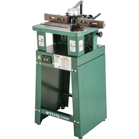 shapers woodworking 1 hp shaper grizzly industrial